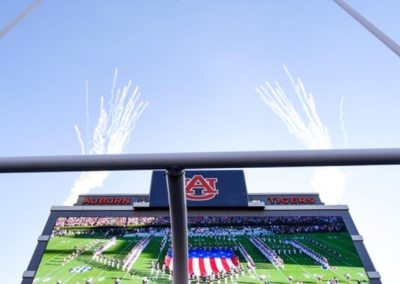Auburn University Jumbo Tron Screen Install