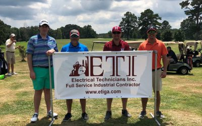 ETI sponsors 2018 Roanoke Quarterback Club Golf Tournament